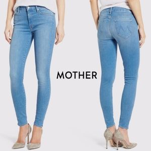 Mother The Looker Jeans Skinny Slim Leg Chill Wash